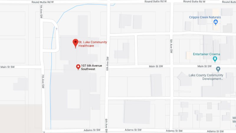 Map Image of hospital location