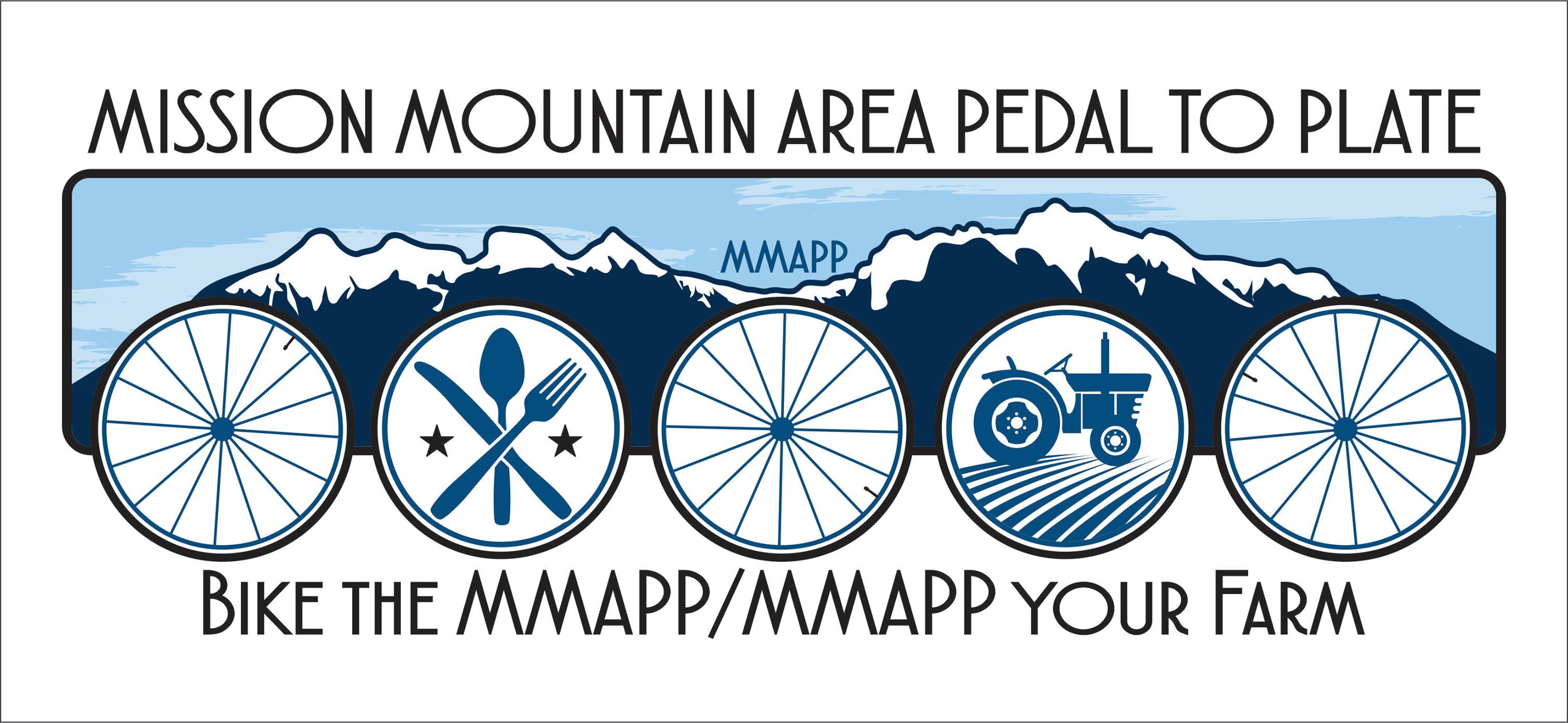Mission Mountain Pedal To Plate Logo