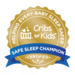 Cribs for Kids Hospital Certification Seal- Gold